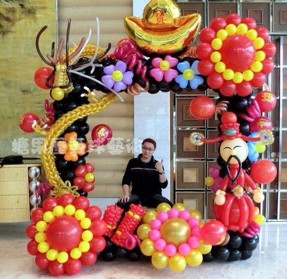 Marcos de globos para fotos decoraci n con globos para - Marcos para fotos decoracion ...