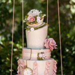 pastel suspendido
