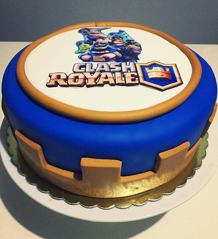 tarta de clash royale