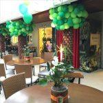 Centros de mesa para fiesta infantil de shrek