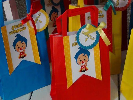 Fiesta temática infantil de Plim Plim
