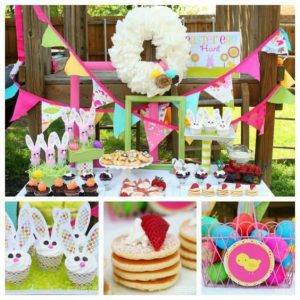 Ideas para decorar una fiesta infantil de conejos