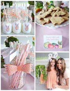Ideas para decorar una fiesta infantil de conejos6