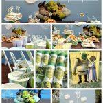 Ideas para decorar una fiesta infantil de shrek4