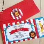 Invitaciones para fiesta tematica infantil de plim plim