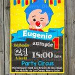 Invitaciones para fiesta tematica infantil de plim plim2