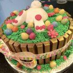 Pasteles para fiesta infantil de conejos