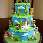 Pasteles para fiesta infantil de shrek2