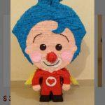 Piñatas para fiesta tematica infantil de plim plim1