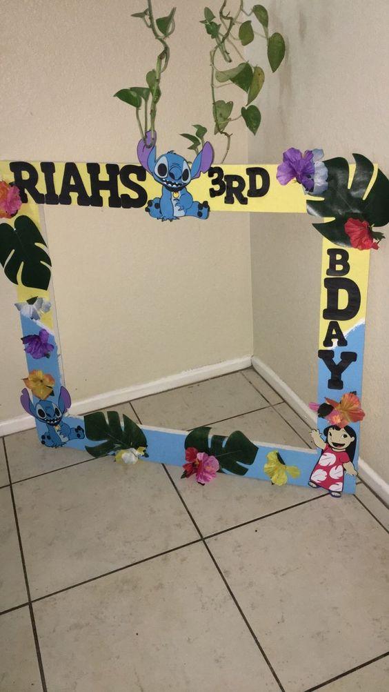 Arreglos infantiles de lilo & stitch