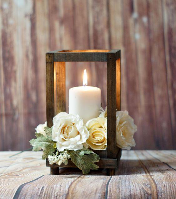 Centros de mesa con velas tendencias para eventos 2018 - Centros con velas ...