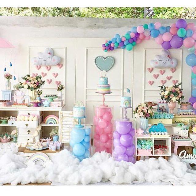 como decorar fiestas en color lavanda (1)