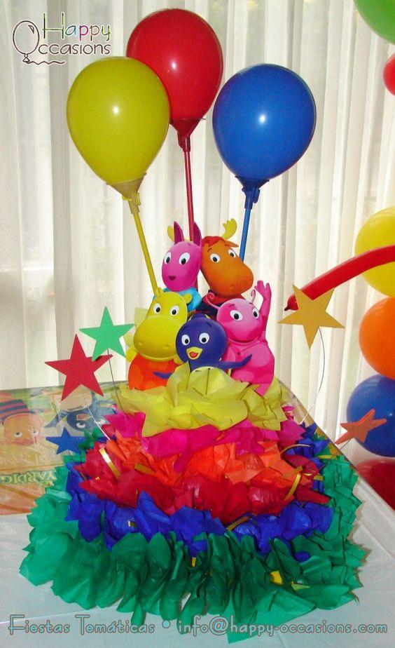 Ideas para cumpleaños de Backyardigans