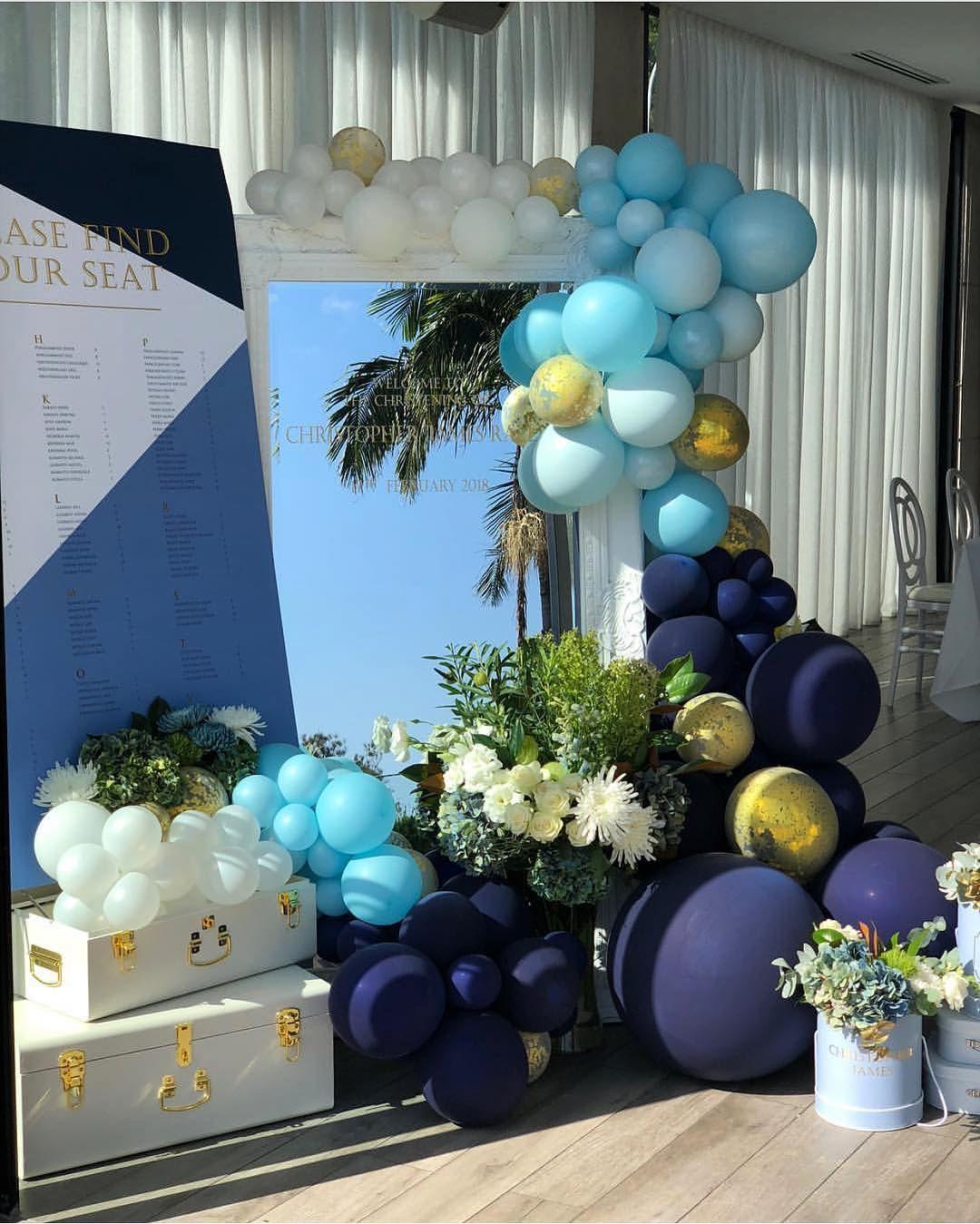 decoracion de fiestas en color azul cobalto (3)