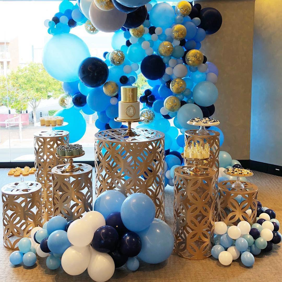 decoracion de fiestas en color azul cobalto (5)