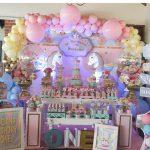 decoracion de fiestas en color rosa cuarzo (10)