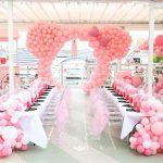 decoracion de fiestas en color rosa cuarzo (6)