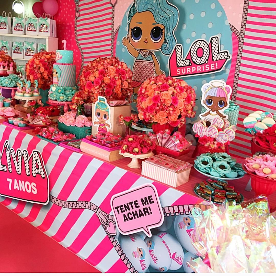 7b8e9a85217 Las mejores ideas para celebrar una Fiesta Lol Surprise Splash queen ...