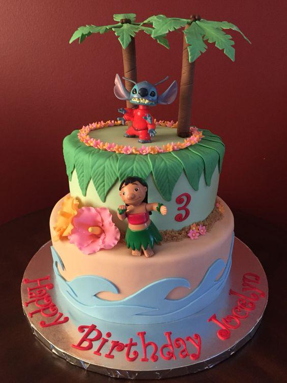 Fiesta infantil de lilo & stitch