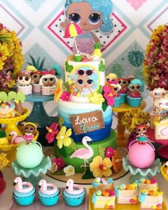 fiesta lol surpise splash queen party tropical