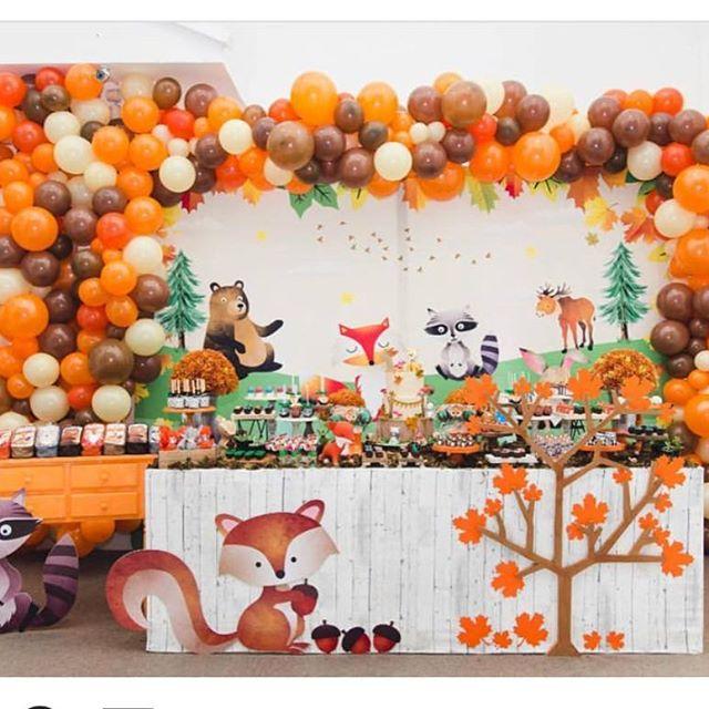 fiestas decoradas en color cafe (1)