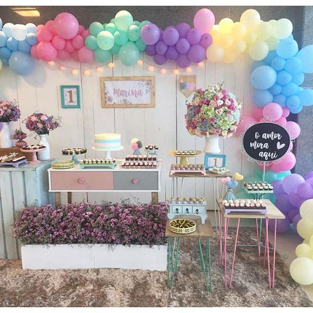 fiestas decoradas en color lila (4)