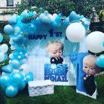 ideas para decorar fiesta infantil jefe en pañales