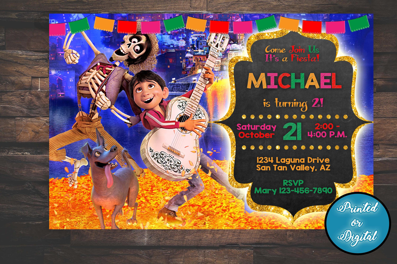 Invitaciones Para Fiesta De Coco Para Hacer Imprimir