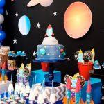 Imágenes de Fiesta infantil con tema de astronautas