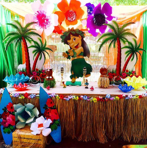 Fiesta infantil de lilo & stitch | Un tema ideal para el verano