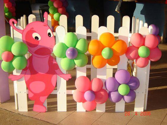 Imágenes de Ideas para cumpleaños de backyardigans
