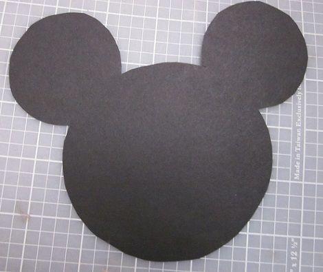 Invitaciones de Mickey Mouse hechas a mano