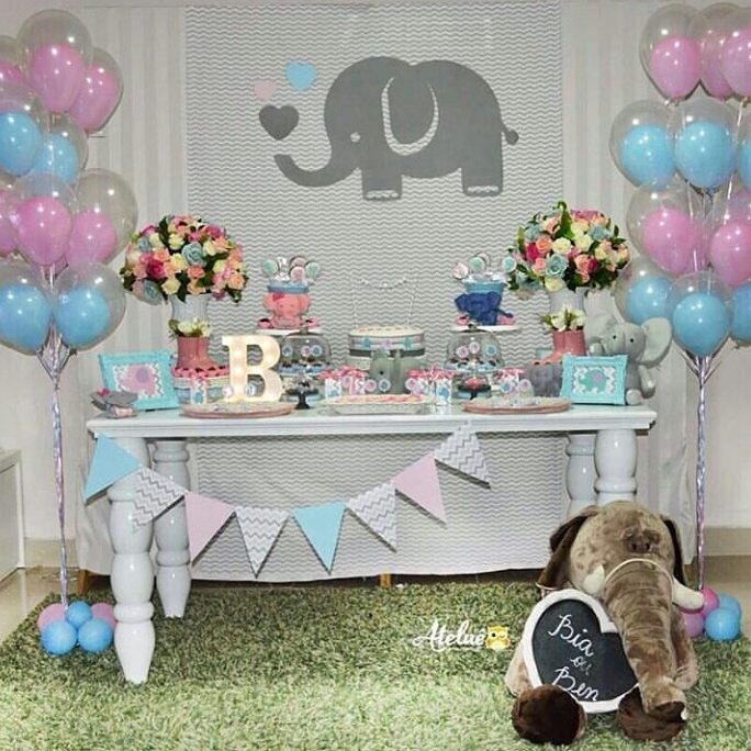 letras led baby shower
