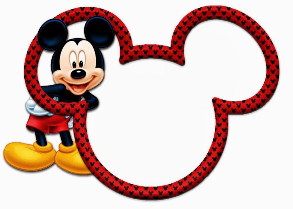 Marcos para invitaciones de Mickey Mouse Gratis