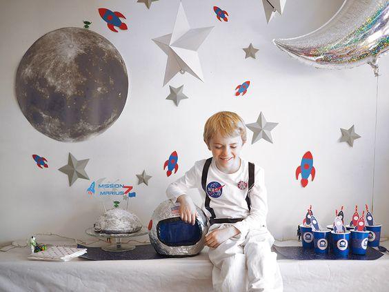 Mesa principal de astronautas
