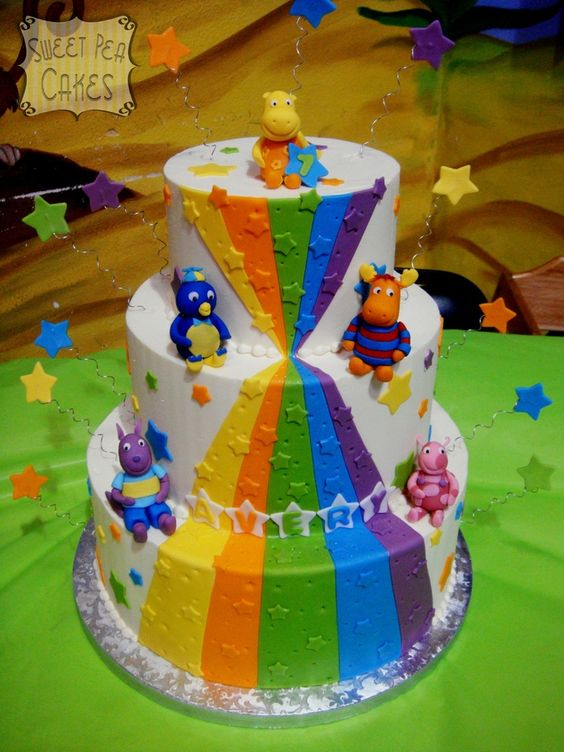 Pasteles de backyardigans