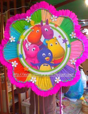 Piñatas de backyardigans