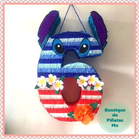 Piñatas de lilo & stitch