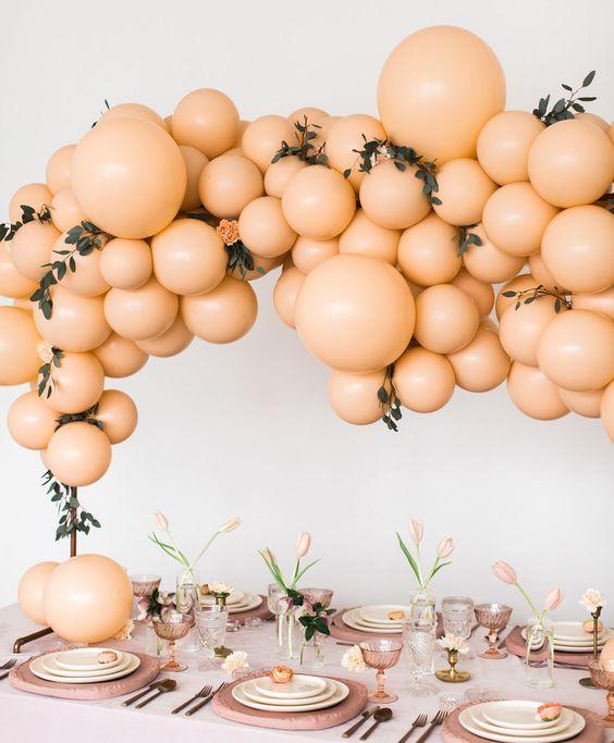 rosa melocoton para decorar fiestas (3)