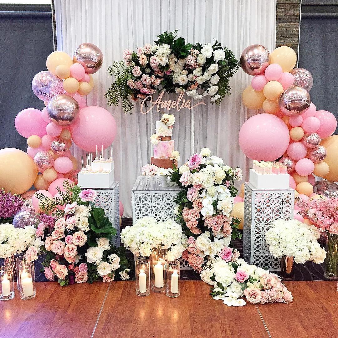 rosa melocoton para decorar fiestas (4)