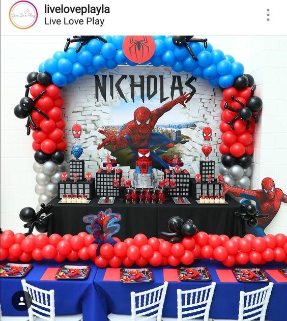 Decoracion del hombre araña con globos.jpg3.jpg4