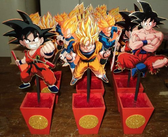 centros de mesa de dragon ball z (2)
