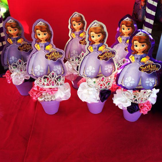 centros de mesa de princesita sofia (2)