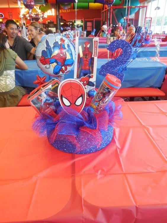 centros de mesa hombre araña