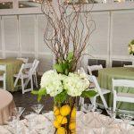centros de mesa para fiesta de limones