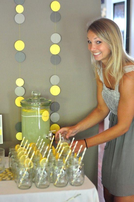 como decorar una fiesta tematica de limones