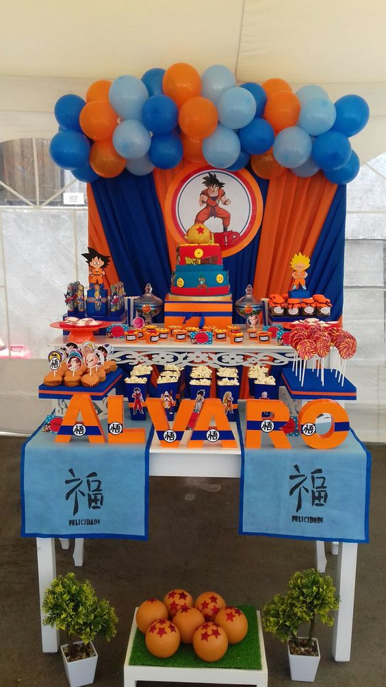 decoracion de dragon ball z para fiestas (2)