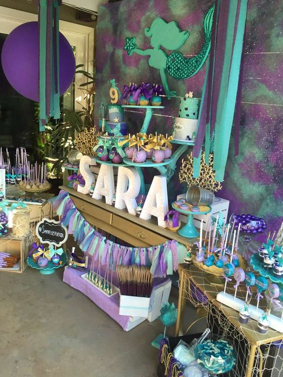 decoracion de mermaid para fiestas (2)