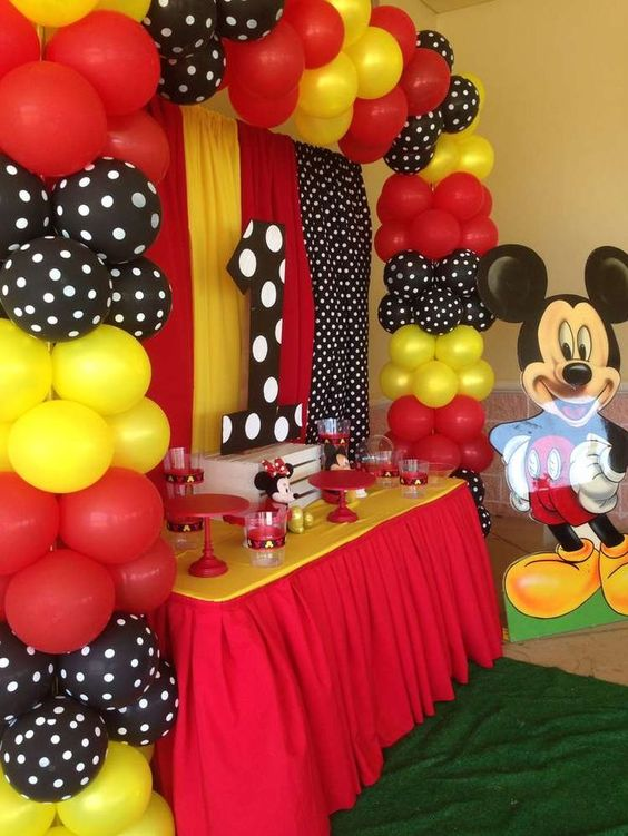 decoracion de mickey mouse para fiestas (2)