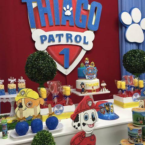 decoracion de paw patrol para fiestas (2)